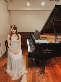 2021年6月 サロンコンサートにてヴァイオリニストの工藤崇さんとフォーレのヴァイオリンソナタなどを演奏