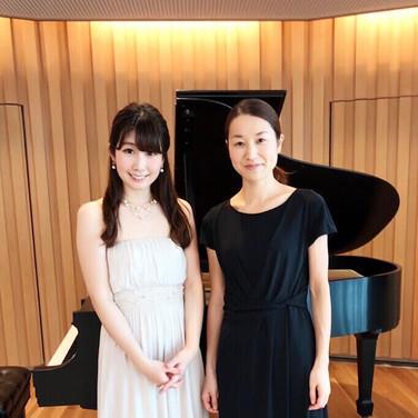 2019年7月 山本まゆ子ピアノソロと室内楽の調べ