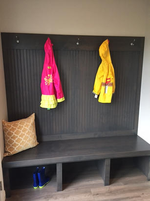 Bench With Hooks