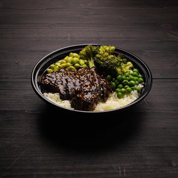 Teriyaki Bowl (with steak)