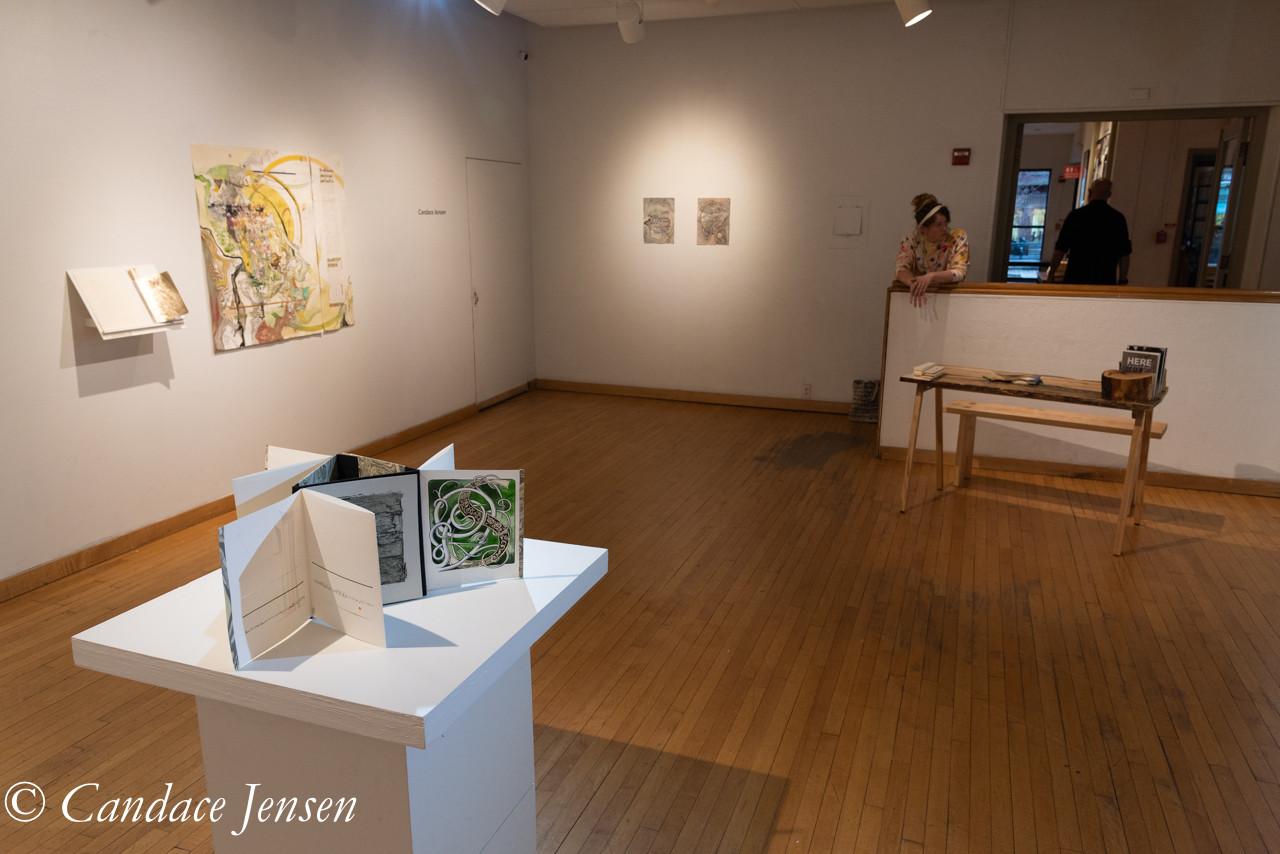 Candace Jensen at Fleisher Art Memorial Wind Challenge II, Installation view