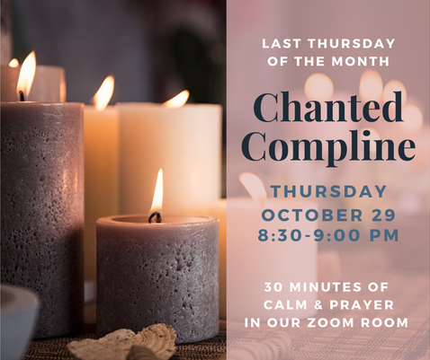 Chanted Compline Oct