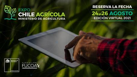 La versión 2021 de Expo Chile Agrícola tendrá talleres, capacitaciones gratuitas y será virtual