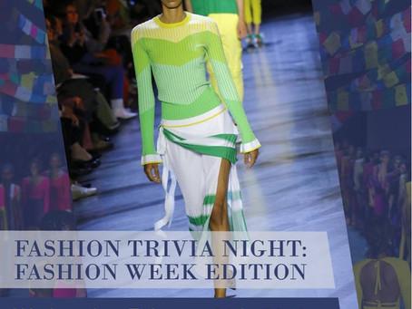 FGI Chicago's Fashion Trivia Night