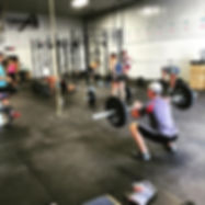 Barbell and Burpee workout