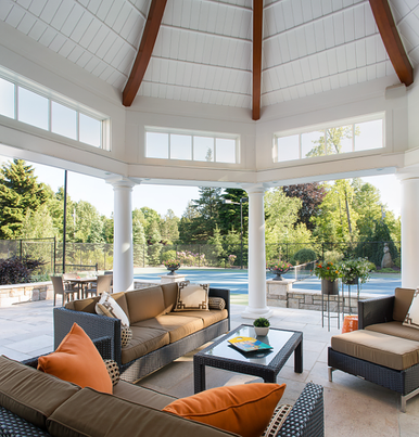 POOLHOUSE SPLENDOR IN CONNECTICUT