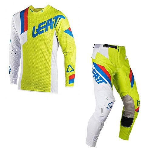 Traje Leatt GPX 5.5 Lime/White