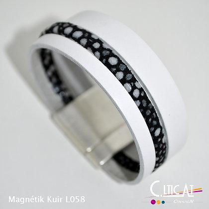 Magnétik Kuir L058