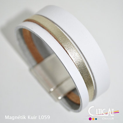 Magnétik Kuir L059