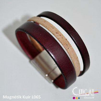 Magnétik Kuir L065