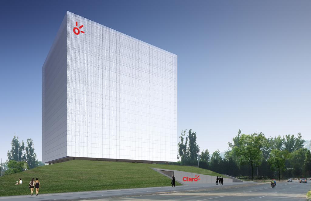 Edificio Claro Chile