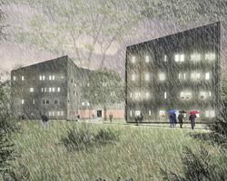 Edificio REM Universidad Austral