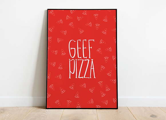 GEEF pizza