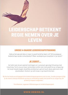 Rebird leiderschapstraining
