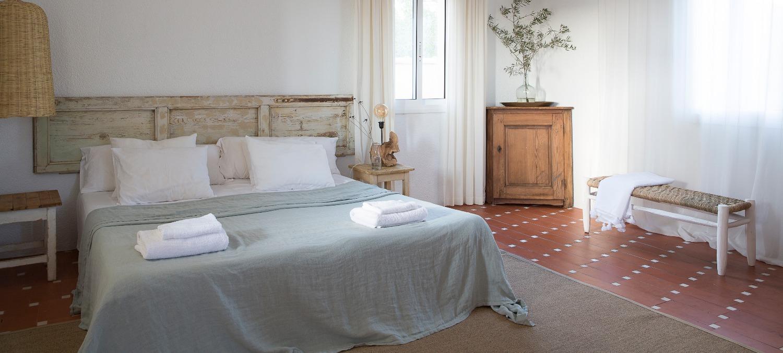 Mas Santo bedrooms