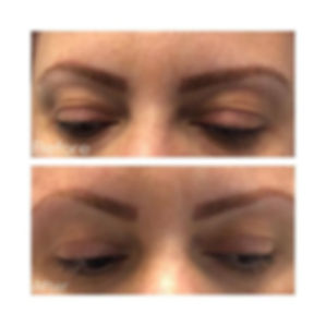 Ponytail brow lift 😍 Brows sit signific