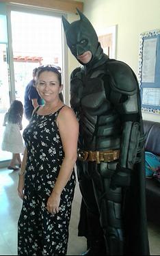 Batman Cyprus chldrens party entertainment
