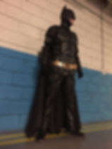 Batman lookng for the Batmobile Cyprus chldrens party entertainment