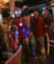 Even aduts love to hire Iron Man Cyprus chldrens party entertainment