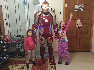 Iron Man Cyprus chldrens party entertainment