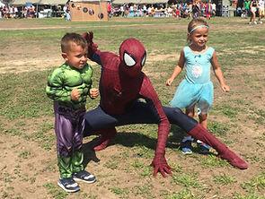 Akrotiri Fun day Spiderman Cyprus chldrens party entertainment