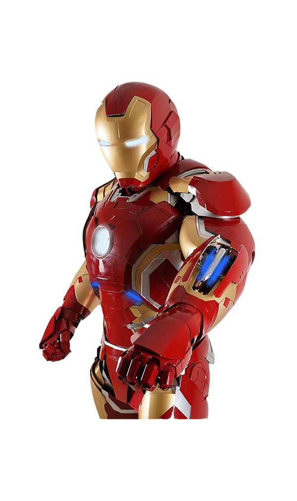 Ultimate Iron Man suit Paphos Childrens party entertainment