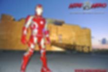 Iron Man Paphos Harbor Cyprus chldrens party entertainment
