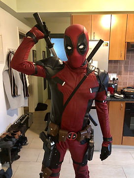 New Deadpool available for hire - Cyprus chldrens party entertainment
