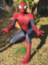 Spiderman to the rescue Cyprus chldrens party entertainment