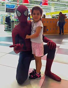 Spiderman Swings by Kings avenue mall Cyprus chldrens party entertainment