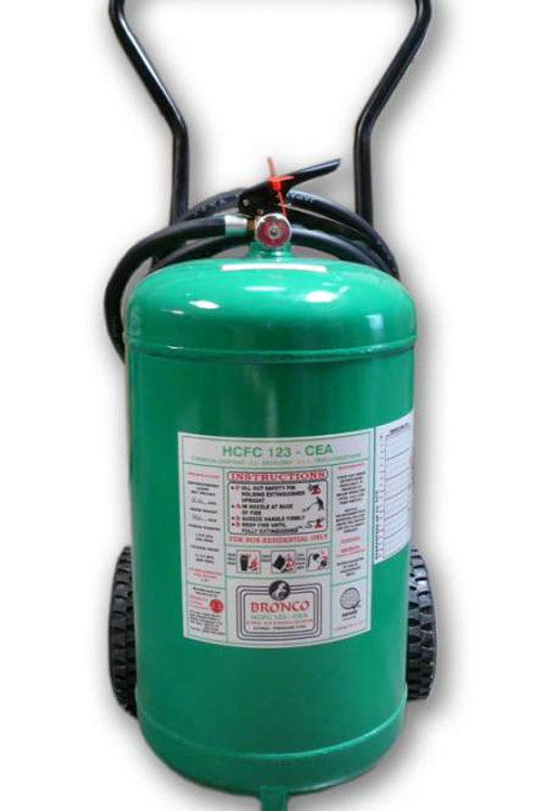 Bronco HFC-236fa Wheeler Type Fire Extinguisher