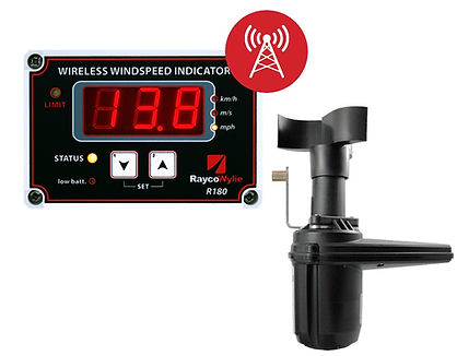 R180 Wireless Wind Speed Indicator