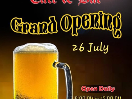 51 Café & Bar Grand Opening is finally tomorrow!!