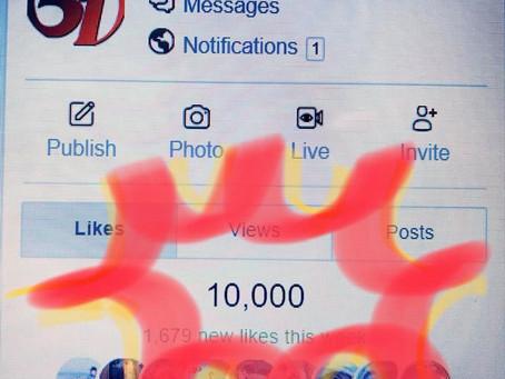 10,000 Likes👍🏻✨on Facebook!!㊗️㊗️