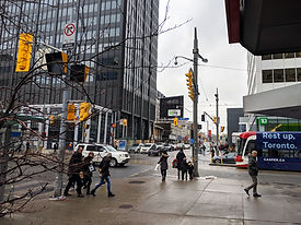Intersection at Yonge and St. Clair