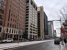 Built form along St. Clair Avenue