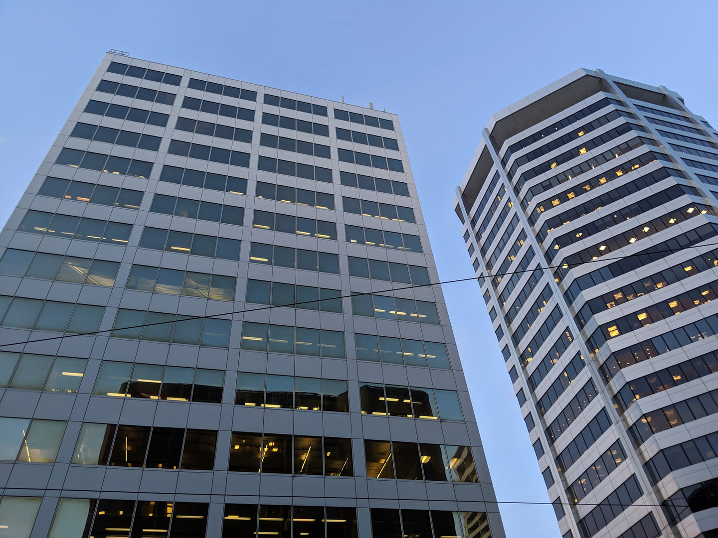 Office buildings on north side of St. Clair Avenue