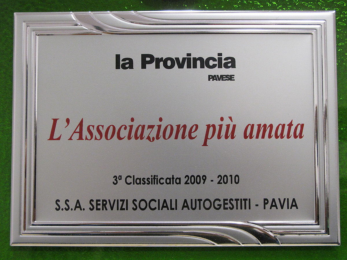 3a classificata 2009-2010
