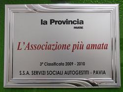 3a classificata 2009-2010