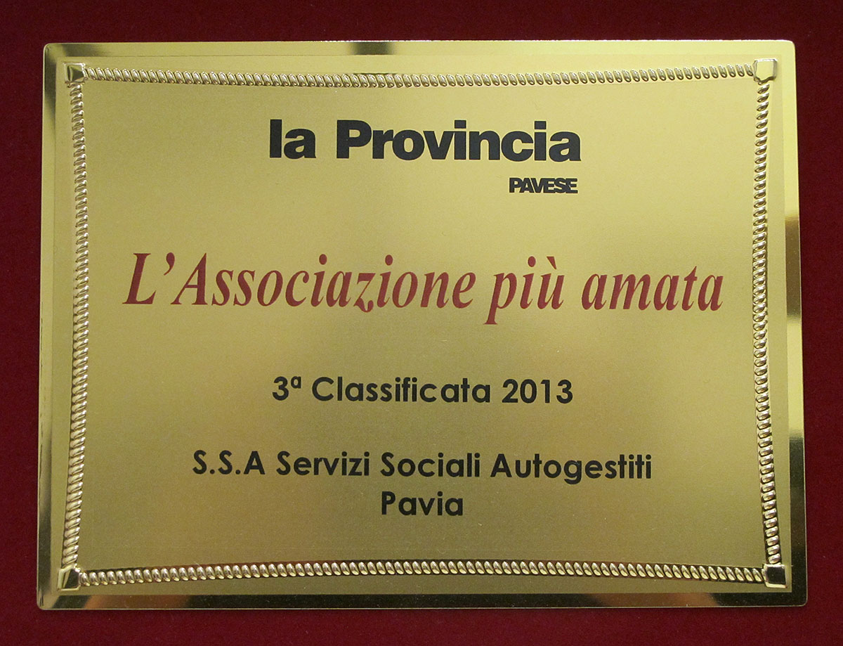 3a classificata 2013