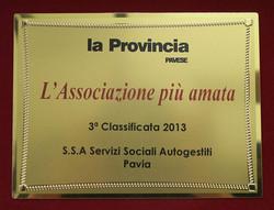 3a classificata 2013