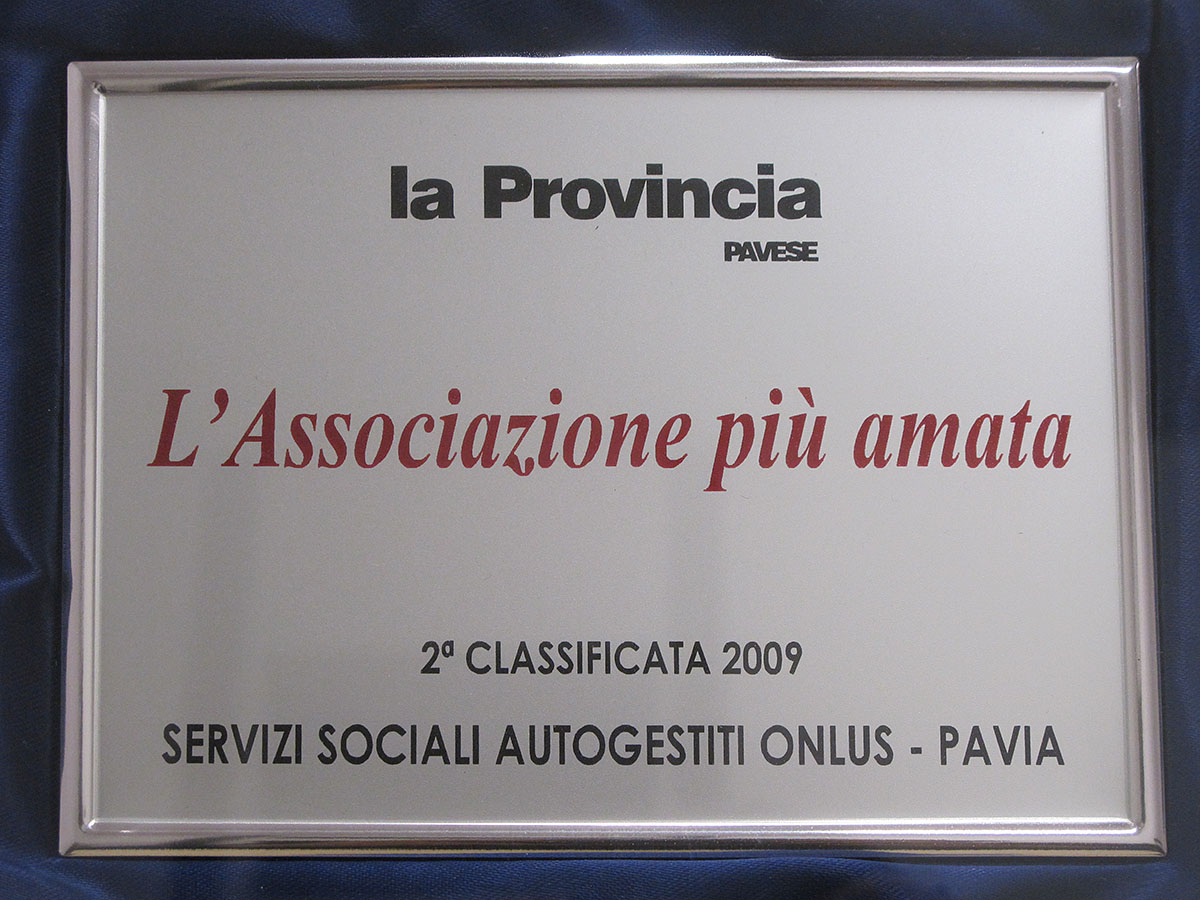 2a classificata 2009