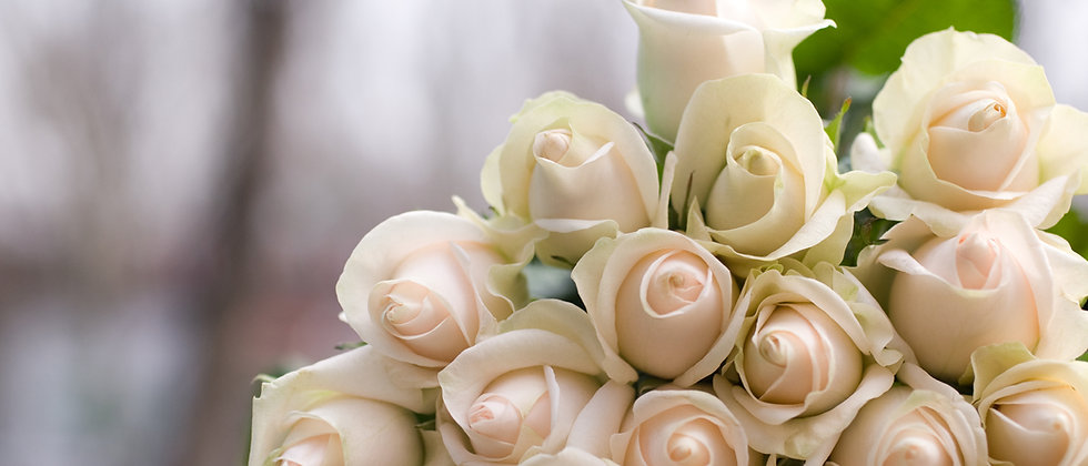 Ram roses blanques