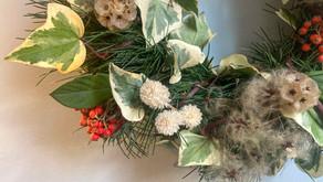 Les décorations de Noël Ferme Florale Urbaine