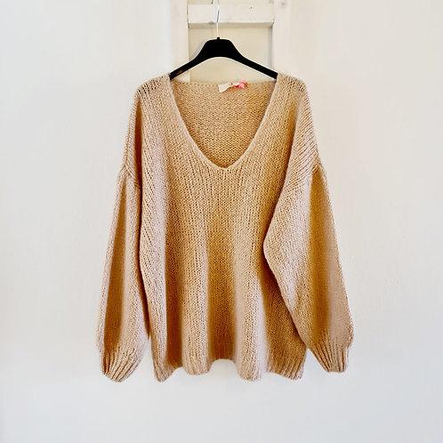 Pullover V- Ausschnitt