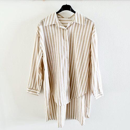 Bluse stripe Oversize