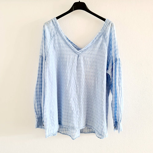 Bluse baby blue
