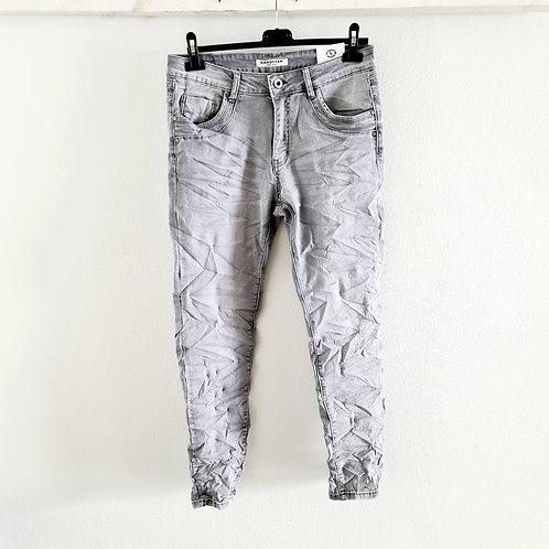Karostar( oversize ) Jeans hellgrau