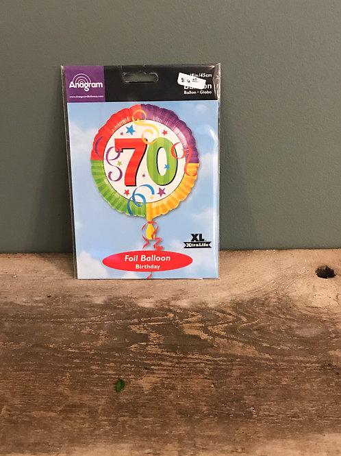 70 Balloon