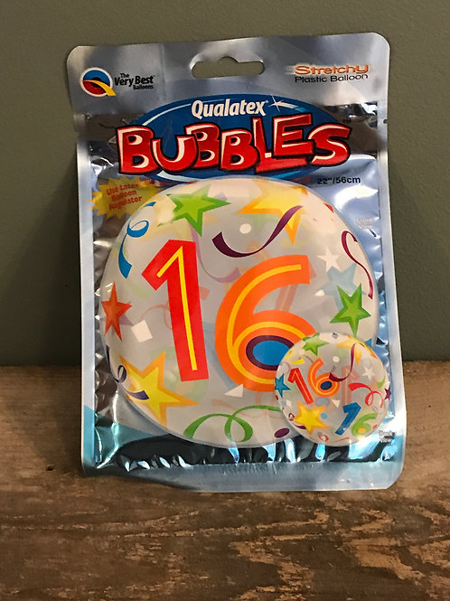 16 Bubble Balloon